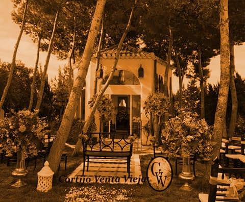 Altar de bodas y celebraciones Cortijo Venta Vieja