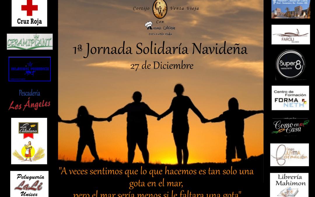 """1ª Jornada solidaría """"Bajo el mismo techo"""""""