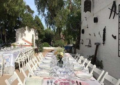 Catering al aire libre para tus celebraciones