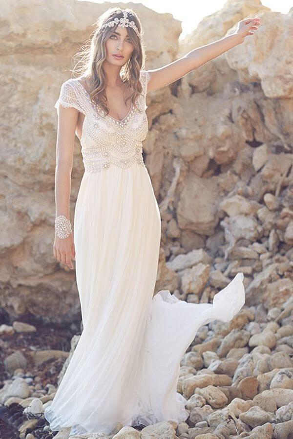 vestido vintage para boda