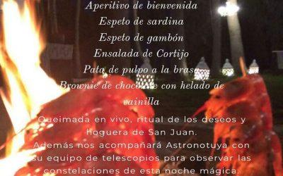 Noche de San Juan Martes 23 Junio